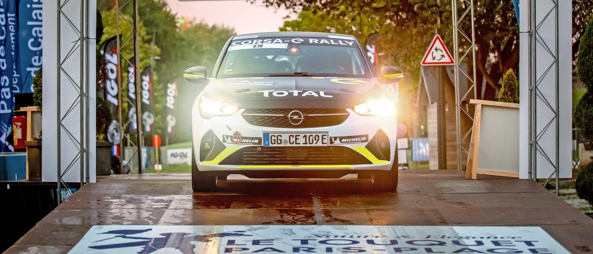 Επιτυχημένη πρεμιέρα για το Opel Corsa-e Rally