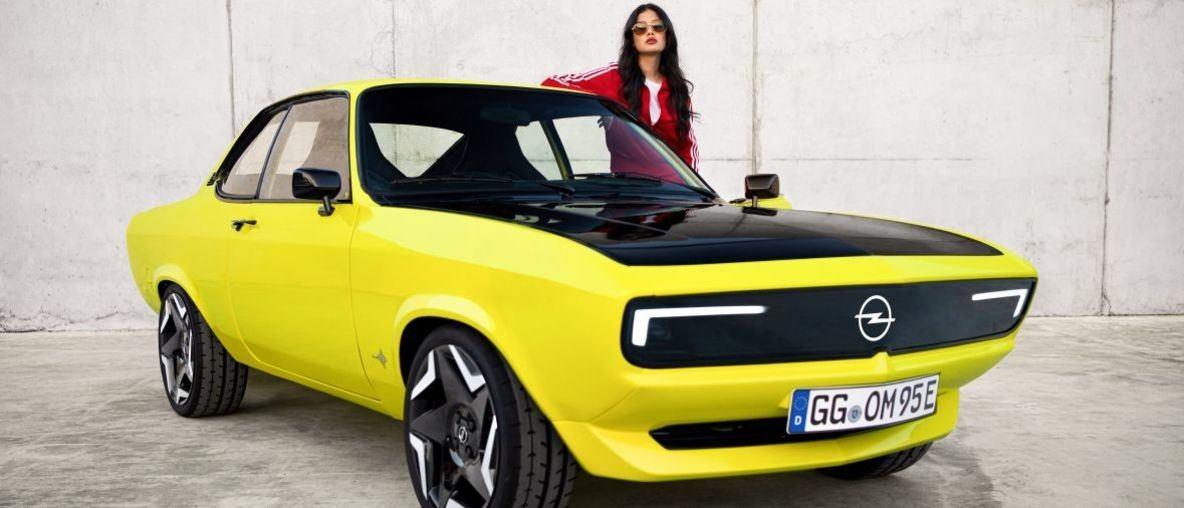 Το πρώτο ElektroMOD από την Opel: Το Manta Επιστρέφει