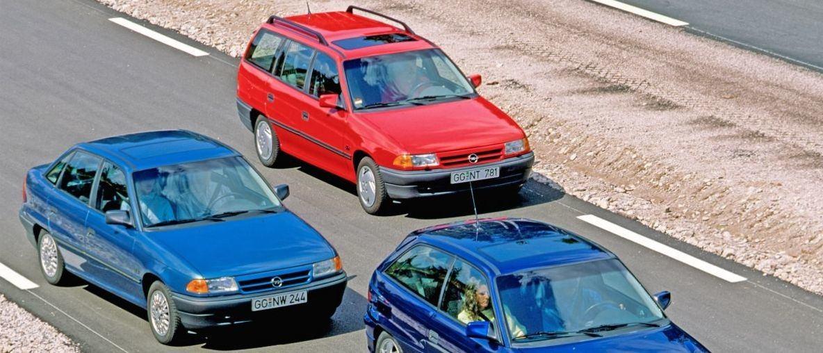 Το Bestseller της Opel: Το Astra F γιόρτασε την Παγκόσμια Πρεμιέρα του πριν από 30 Χρόνια