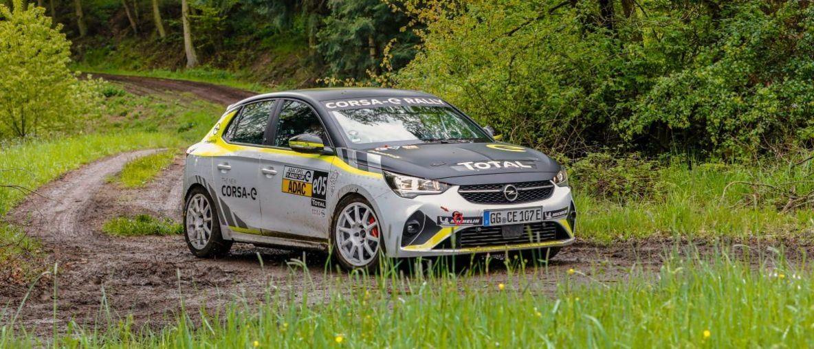 Εναρκτήριος αγώνας για το ADAC Opel e-Rally Cup στο Stemwede