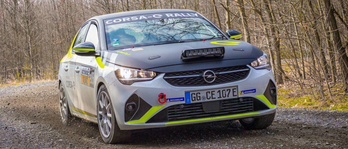 Μοναδικό Σύστημα Ήχου για το Ηλεκτρικό Opel Corsa-e Rally Car