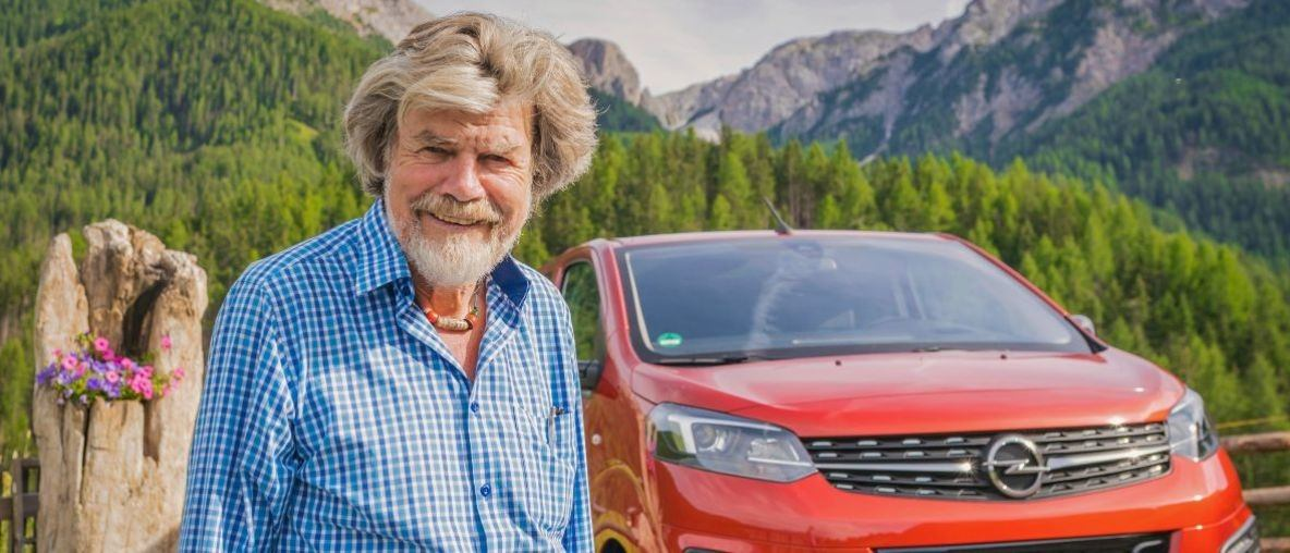 Στην Κορυφή των Άλπεων: Ο Reinhold Messner (Ράινχολντ Μέσνερ) και τα Ηλεκτρικά Van της Opel