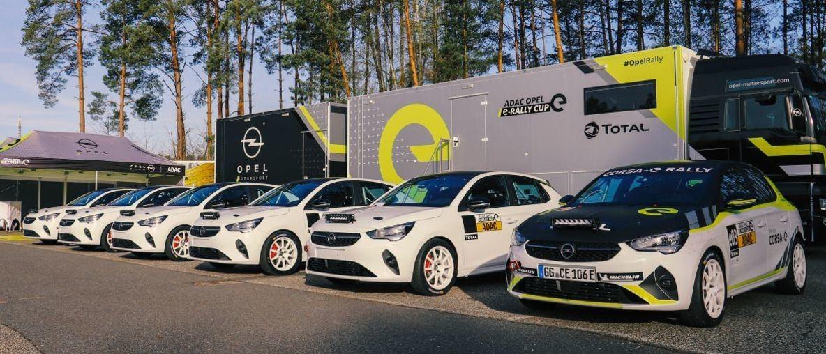 Τα πρώτα Opel Corsa-e Rally Cars παραδόθηκαν στους πελάτες