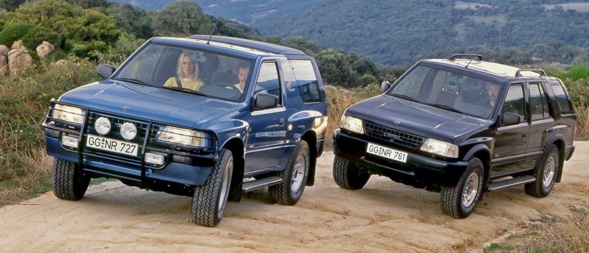 'Trendsetter' & 'Bestseller': Το Opel Frontera Γιορτάζει τα 30ά του Γενέθλια