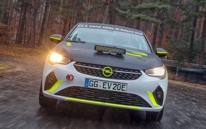 Ξεκίνησε η Εξέλιξη του Opel Corsa-e Rally