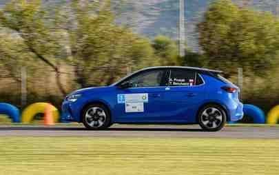 Παρθενική νίκη: Το Opel Corsa-e κερδίζει το FIA E-Rally Regularity Cup
